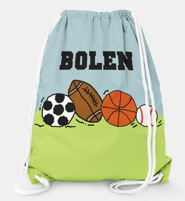 Drawstring Backpack- Sports Fan