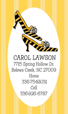 Calling Cards- Daisy Pumps