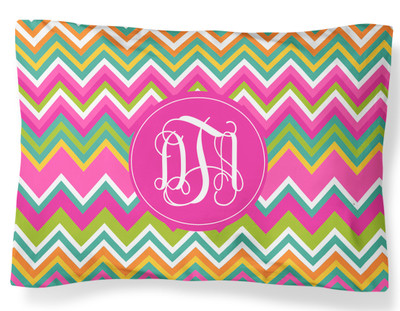 PILLOWCASE-Multicolor Chevron