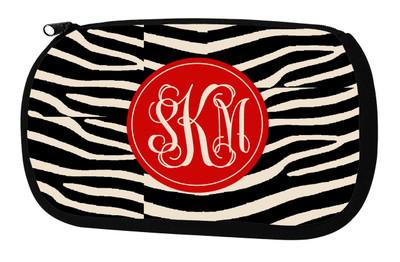 Cosmetic Bag-Zebra