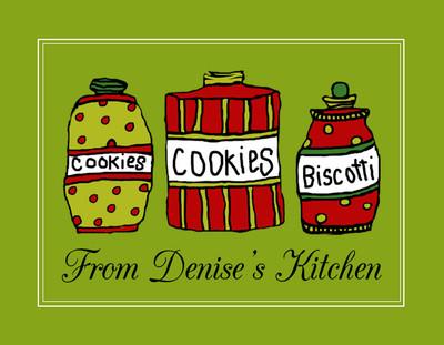 Address Stickers - Cookie Jars