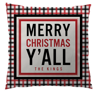 Pillows - Merry Christmas Y'all