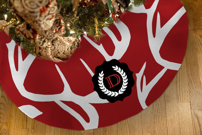 Tree Skirts - Abstract Deer Colors