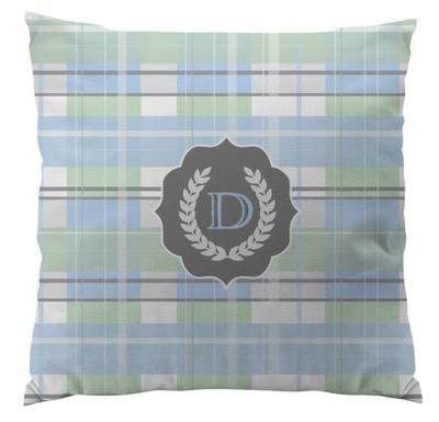 Pillows - Light Blue Plaid Small