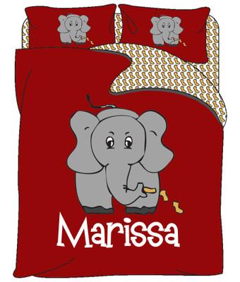 Custom Bedding - Elephant