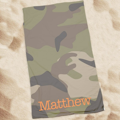 Beach Towel-Camo