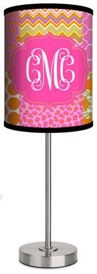 Custom Lamp-Summer Collage