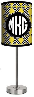 Custom Lamp-Chevron X