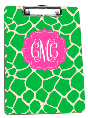 Clipboard-Apple Green GIraffe