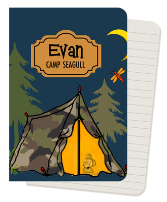 Mini Journals - Camp Life Tent