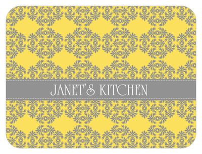 Cutting Board - Lemon Gray Frilly