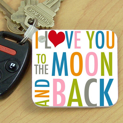 Key Chain- To the Moon