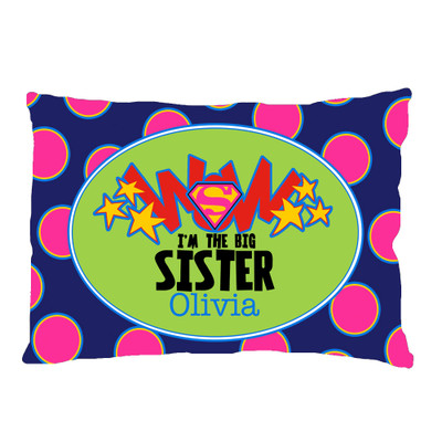 PILLOWCASE-Big Sister WOW