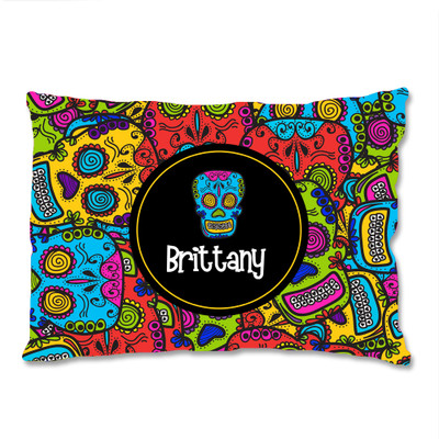 PILLOWCASE- Comic Skulls
