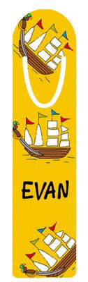 Metal Bookmark- Pirate Ship
