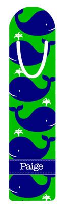 Metal Bookmark- Blue Whales