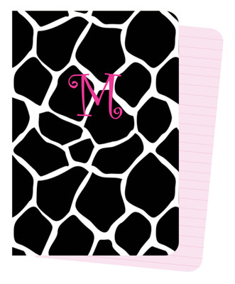 Mini Journals - BW Giraffe