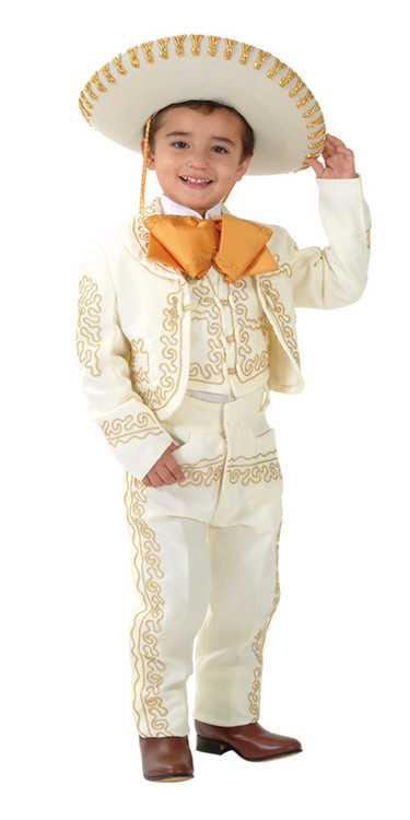 Sutach embroidered charro suit includes Jacket, pants and vest