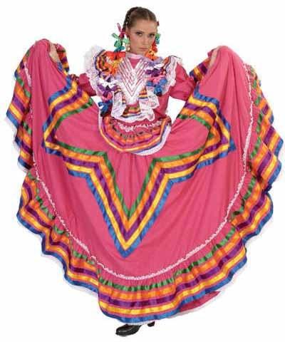 Jalisco folklorico Dress, Vestido Jalisco doble vuelo con estrella