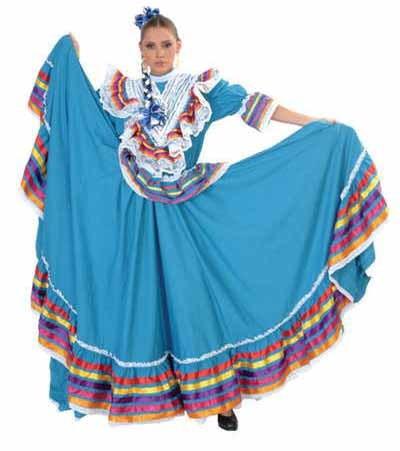 Folklorico Jalisco Dress, Vestido Folklorico Jalisco