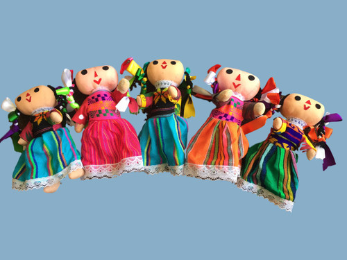 """8"""" Mexican  Folklorico doll"""