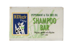 DERMagic Peppermint Tea Tree Shampoo Bar