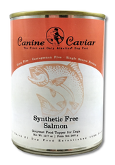 Canine Caviar Gourmet Synthetic Free Canned Wild Salmon