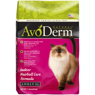 AvoDerm Natural Indoor Hairball Care Formula Dry Cat Food
