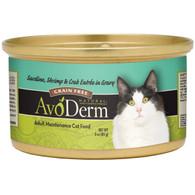 AvoDerm Grain Free Sardine, Shrimp & Crab Entree in Gravy Wet Cat Food (3 0Z)