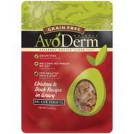 AvoDerm Grain Free Chicken & Duck Recipe In Gravy Wet Cat Food (3 OZ)