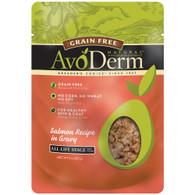 AvoDerm Grain Free Salmon Recipe in Gravy Cat Food (3 OZ)