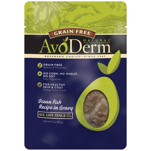 AvoDerm Grain Free Ocean Fish Gravy Cat Food (3 OZ)