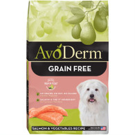 AvoDerm Grain Free Salmon & Vegetables (4 LB)