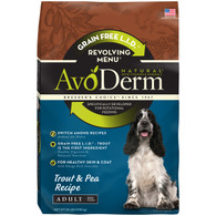 AvoDerm Grain Free Revolving Menu Trout & Pea Recipe (4 LB)