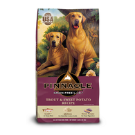 PINNACLE GRAIN FREE TROUT & SWEET POTATO DRY DOG FOOD (12 LB)