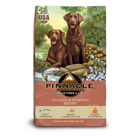 PINNACLE GRAIN FREE SALMON & PUMPKIN DRY DOG FOOD (24 LB)