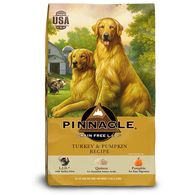 PINNACLE GRAIN FREE TURKEY & PUMPKIN DRY DOG FOOD (24 LB)