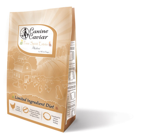 Canine Caviar Free Spirit Chicken Dry Dog Food