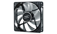 Deepcool Windblade 120 Semi Transparent 120mm Black Cooling Fan with Blue LED