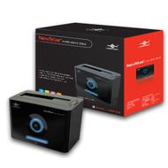 "Vantec NexStar Hard Drive Dock Single Bay 2.5""/3.5"" SATA to USB 2.0 (NST-D100S2-BK)"