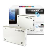 Vantec NexStar Portable WiFi Hard Drive Enclosure (NST-260WS3-WH)