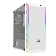 Montech Air 900 ARGB White Mid Tower Computer Case with Tempered Glass EATX support and ARGB Lighting