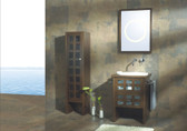 Avallino - Modern Bathroom Vanity Set 22""