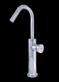 Madrid II Chrome Finish Modern Bathroom Faucet