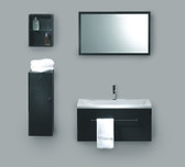 Modern Bathroom Vanity Set - Lana