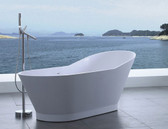 Tabiano Freestanding Soaking Tub 69.3""