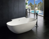 Suviana Freestanding Soaking Tub 71""