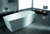 Ciciano Freestanding Soaking Tub 71""