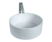 Enna Vessel Sink Solid Surface 15.8""