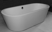 Acera Acrylic Freestanding Soaking Bathtub 67""